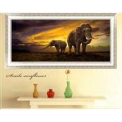 Olibay 5D DIY Elephant Diamond Painting Home Wall Decor