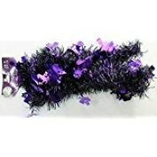 2.7m Garland Festive Seasonal Spooky Shiny Halloween Haunted Party Decoration (Pack of 2)