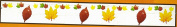 Nantucket Home Autumn Leaves Leaf Garland, 2.3m