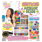 Just My Style Emoticon Message Beads by Horizon Group USA Toy
