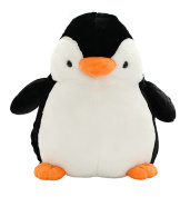 BESTLEE Cute Clumsy Penguin Plush Toy Stuffed Animal Toy for Kids 25 CM/9.8 Inch