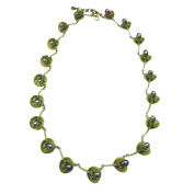 """""""African Violet"""" Statement Necklace Necklace by Michael Michaud for Silver Seasons"""