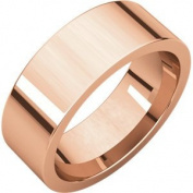 Rose Gold Flat Comfort Fit Bands