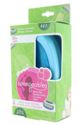 Spongeables 30+ Uses Body Wash Infused Sponge with Container Verbena Green Tea Scent 100ml/99.2G