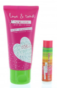 Set Natural Handcreme Moisturising Sugar Grapefruit 60ml, and Lip Balm .440ml by Love & Toast