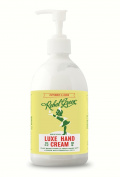Rebel Green 853430006407 Luxe Hand Cream, Peppermint/Lemon
