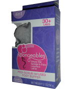 Spongeables 30+ Uses Pedi Scrub Infused Foot Buffer w/ Lavender Chamomile Scent 60ml/56 g
