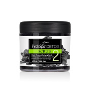 Gena Pedi Spa Detox Black Charcoal Purifying Scrub - Step 2 - 460ml