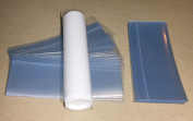 400 Clear Shrink Wrap Bands Sleeves for Lip Balm (Chapstick) Tubes - VERTICAL PERFORATION