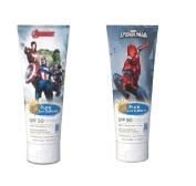 Marvel Spider-Man, Pure Sun Defence, SPF 50 Sensitive Skin Broad Spectrum 240ml + Marvel Avengers, Pure Sun Defence, SPF 50, For Sensitive Skin, Broad Spectrum, 240ml