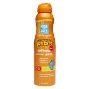 Kiss My Face Continuous Spray Sunscreen Kids Defence SPF 50 180ml