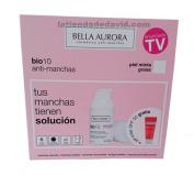 Bella Aurora Bio 10 Combination-oily Skin Serum 30ml + Free Sunscreen Anti-dark Spots Gel Spf 50+ 30ml