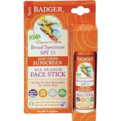 Badger - Kids Sport Sunscreen Face Stick - SPF 35 - 2 Pack