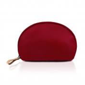 Shell Cosmetic Bag - Small Waterproof Portable Environmental Nylon Semicircle Handbag as Toiletry Bag,Digital Bag,Stationery Bag for Business Trip, Travel, Outdoor Sightseeing