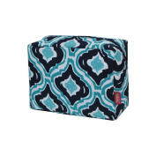 Qutrefoil Ikat Print NGIL Large Cosmetic Travel Pouch