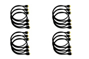 QualGear HDMI Type A Male to HDMI Type A Male HDMI 2.0 Cable, 0.9m Black - 12 Pack