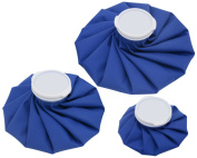 3-size Waterproof No-Leak Ice Pack Bags Reusable for Sports Pain Relief & Post-Op Cold Therapy
