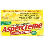 Aspercreme Odour Free Therapy Pain Relieving Creme With Aloe - 150ml