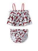 Hello Kitty Open Back Tankini Bathing Suit - 4T