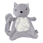 Hallmark Baby Good Night Kisses Scented Lovey, Soft Grey Squirrel
