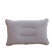 Shineweb Thick Flocking Fabric Inflatable Pillow Portable Travel Camping Pillow