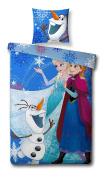 Disney Frozen The Snow Queen Bedding Duvet Cover 140 x 200 cm + Pillowcase 60x70 cm * BRAND NEW * Reversible Bed Set/Duvet Cover
