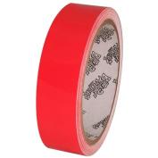 Tape Planet Fluorescent Red 2.5cm x 10 yards Premium Cast Vinyl Tape