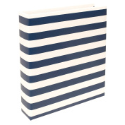 Becky Higgins Project Life 6x8 Navy Stripe Album