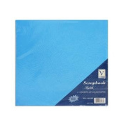 Scrapbook Colour Paper for Refill Pages (10 12x12 pages) - Blue, Green, Pink