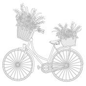 KaiserColour Gift Card W/Envelope 15cm x 15cm -Bicycle