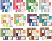 Calendar Plan-It 12x12 Scrapbooking Papers Set - 12 Months