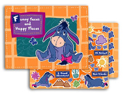 "Disney Winnie the Pooh's Eeyore ""Funny Faces and Happy Places"" Scrapbook Kit"