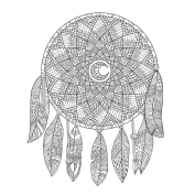 KaiserCraft Kaisercolour Gift Card W/envelope 15cm x 15cm -Dream Catcher