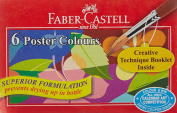 Faber Castell Poster Colours - 6 Shades