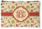 Fall Flowers Zipper Pouch