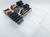 Acrylic Compact Makeup drawer organiser for the Ikea Alex 39 by Sonny Cosmetics