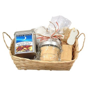 Spa Gift Basket Spa & Tea Almond Biscotti Bath Gift Basket