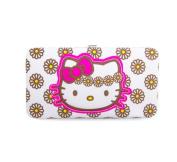 Hello Kitty Daisy Canvas Hardcase Wallet