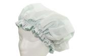 Kids AQUA Waterproof Double Layer Shower Cap Made With Eco-Friendly EVA Exterior & Pure Satin
