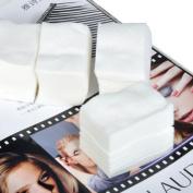 900pcs Nice Nail Polish Remover Pads Paper Clean Wipes Cotton Lint Colour White