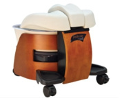 Continuum Pedicute Portable Massage Foot Spa w/ No Plumbing / Installation