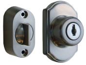 Ideal Security Inc. SK703SS Keyed Deadbolt, Satin Silver