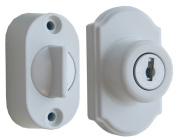 Ideal Security Inc. SK703W Keyed Deadbolt, White