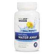 Water Away Natural Herbal Complex Blend Diuretic Supplement Herbal Complex Blend with Dandelion, Potassium, Green Tea and more