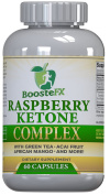 BoosteFX Raspberry Ketone Complex - With Green Tea, Caffeine, Acai Fruit & African Mango - #1 Recommended Blend of Weight Loss Supplements.