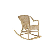 Rocking Chair Rattan for Her Child 41x75x52 cm