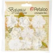 Botanica Baby Blooms 3.2cm 9/Pkg-White