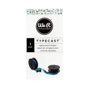 American Crafts 310301 We R Memory Keepers Typecast Teal Typewriter Ribbon, Teal