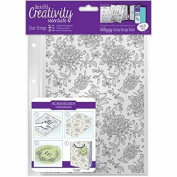 CE907127 Creativity Essentials A5 Clear Background Stamps - Floral