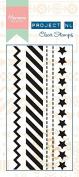 Marianne Designs Border Stamp-Stars